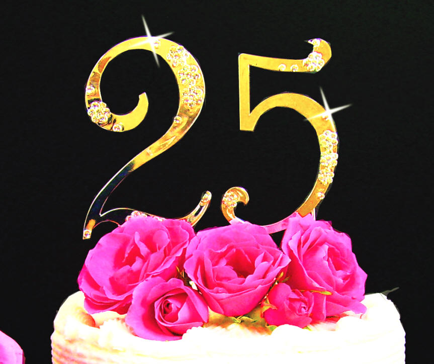 ... close-up of french script numbers in gold plate & Jewelry by Rhonda - Wedding Jewelry Bridesmaidu0027s Jewelry Cake ...