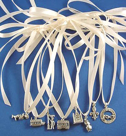 jewelry by rhonda sterling silver new orleans louisiana wedding cake charms for your wedding. Black Bedroom Furniture Sets. Home Design Ideas