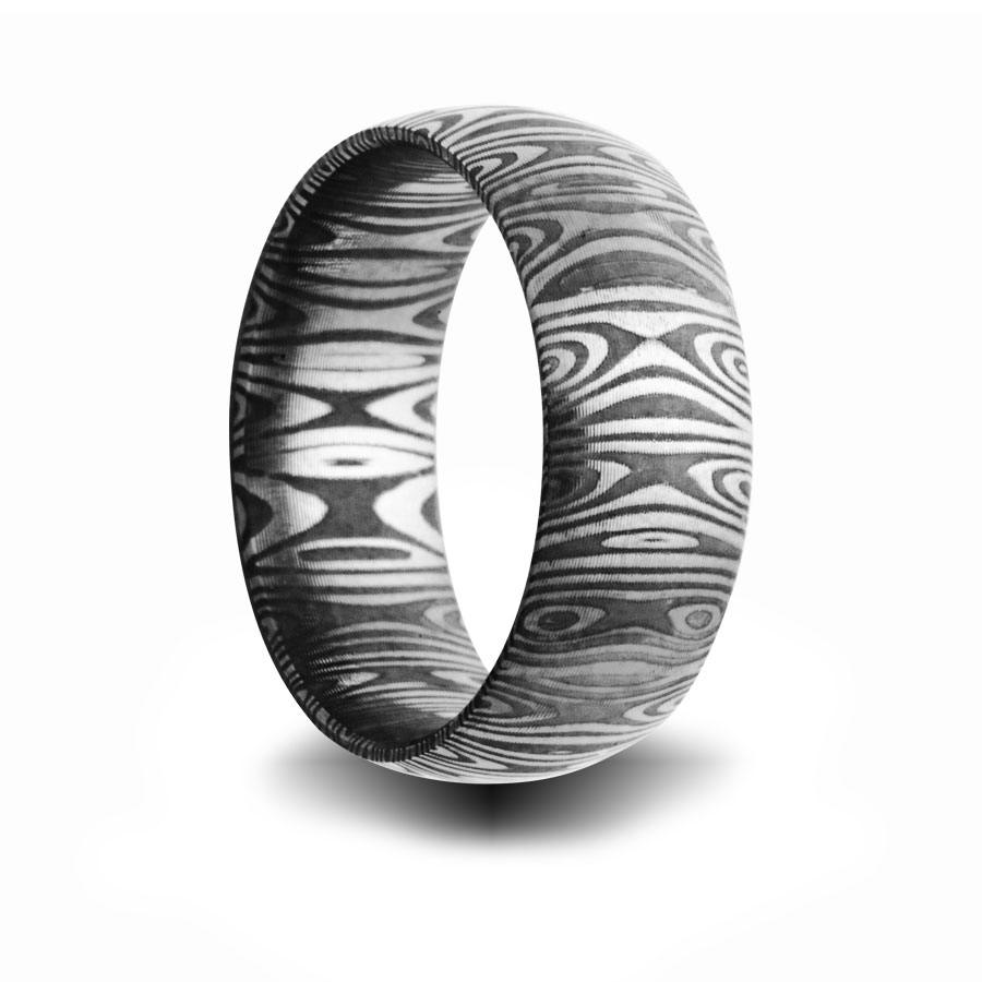 ring titanium steel band rings engagement his her set silver stainless wedding