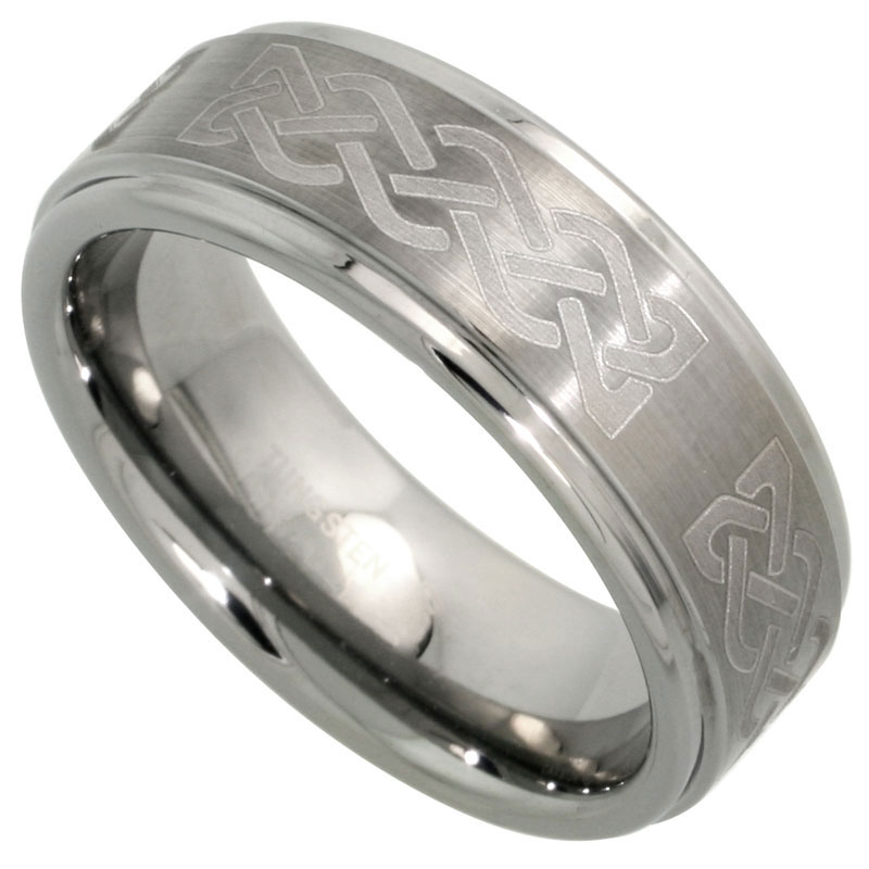 s with maui carbide band wedding products tungsten of pacific rings mother mm mens men pearl inlay ring