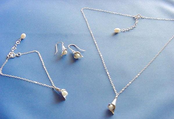 Calla Lily Jewelry Sets
